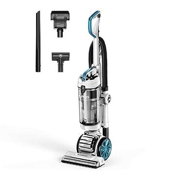 Eureka NEU562A FloorRover Upright Vacuum Cleaner, Bagless Pet Vacuum for Carpet and Hard Floor, Blue
