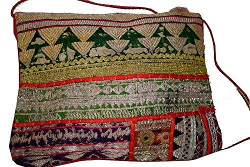 Textiles pour Tribal Asian Pochette femme Color Multi wtw6F