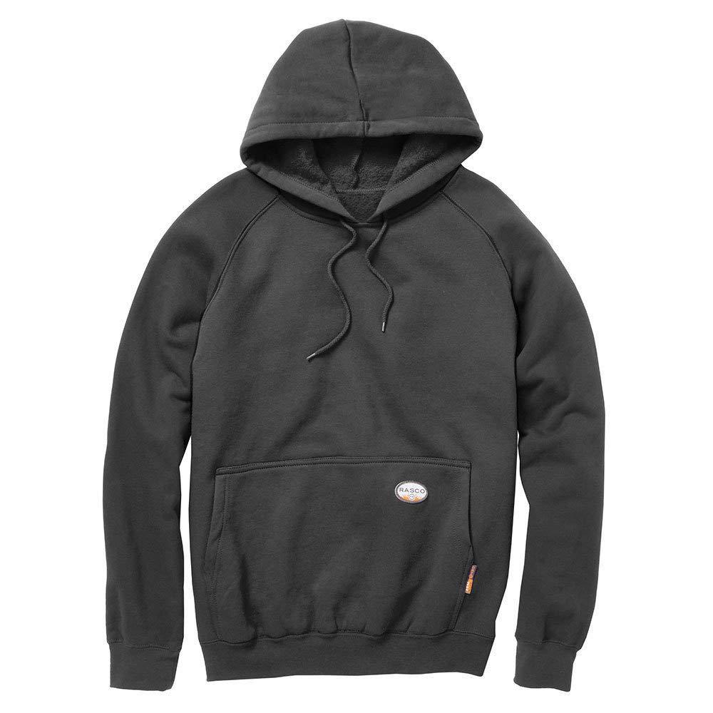 Rasco FR Mens Pullover Hoodie L Black by Rasco FR
