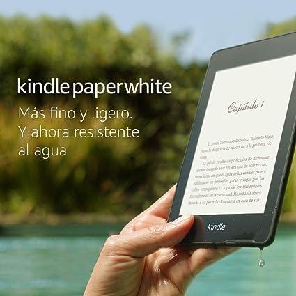 Kindle Paperwhite, lectura nítida y fácil tanto de noche como de día.