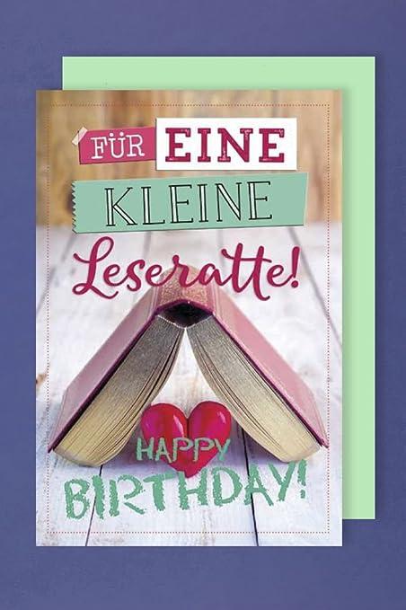 Lectura tarjeta de cumpleaños tarjeta de felicitación Humor ...