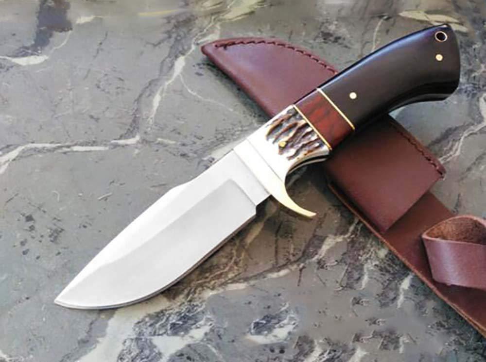 Browning - Cuchillo de Caza con Funda de Piel y Hoja de ...