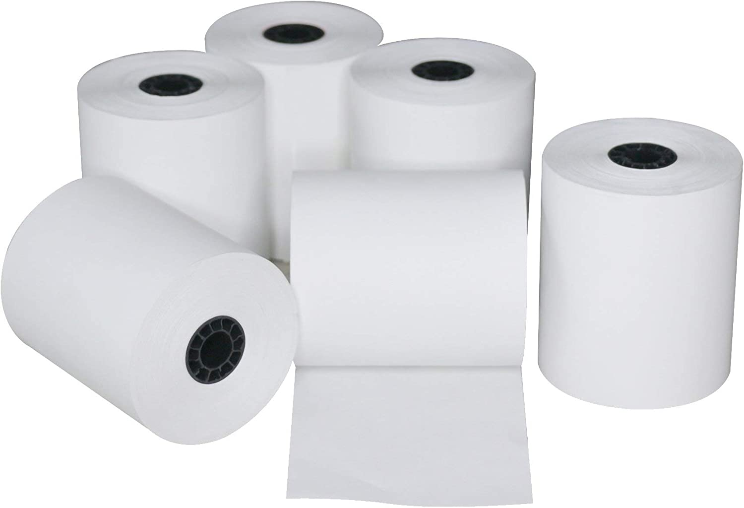 100 Rolls Clover Station Thermal Paper 3 1//8 x 220 BPA Free From NPOS Solutions
