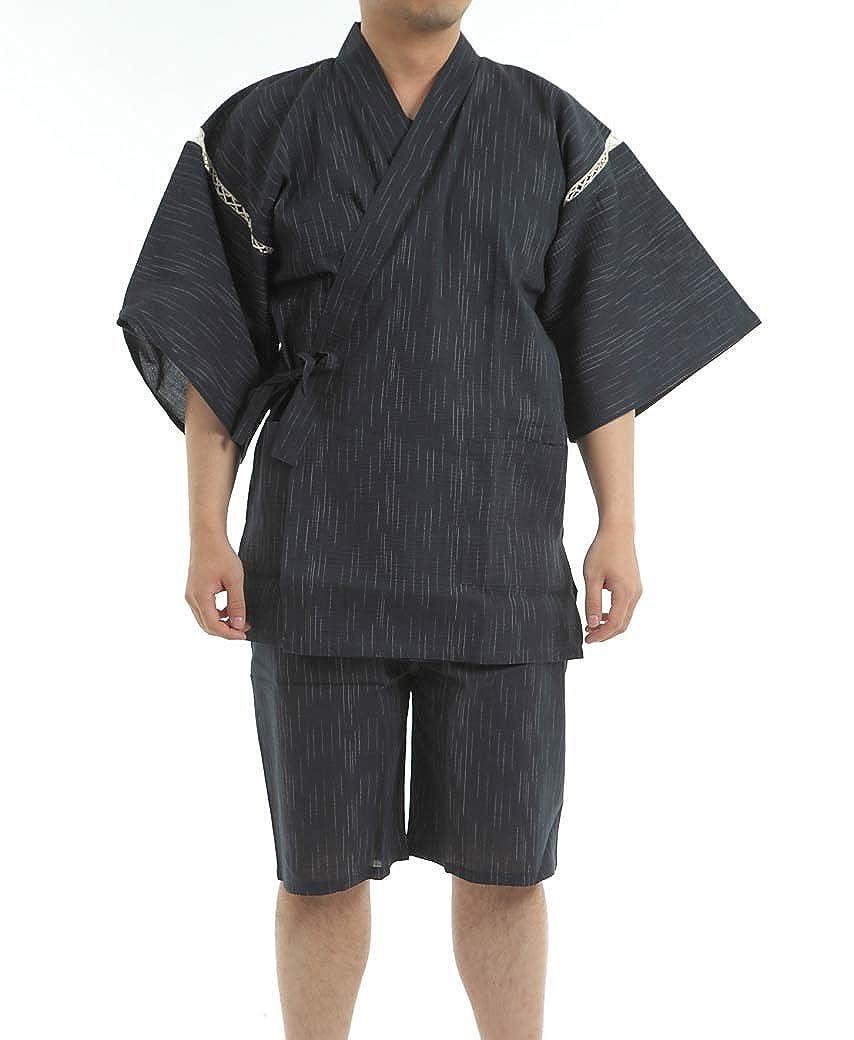Edoten Hombres de Japón Kimono Jinbei: Amazon.es: Ropa y ...