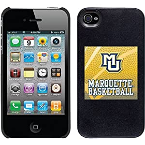 Marquette Basketball design on Black iPhone 6 plus 5.5 Thinshield Snap-On Case