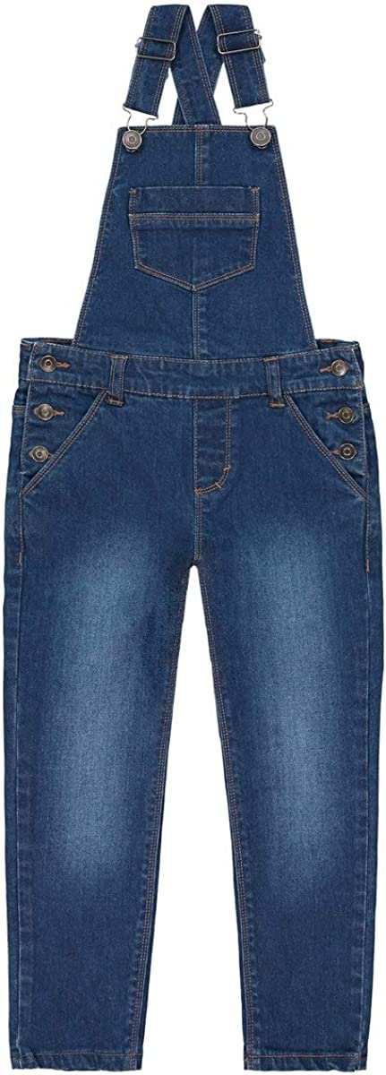 La Redoute Collection Denim Dungarees 3-12 Years