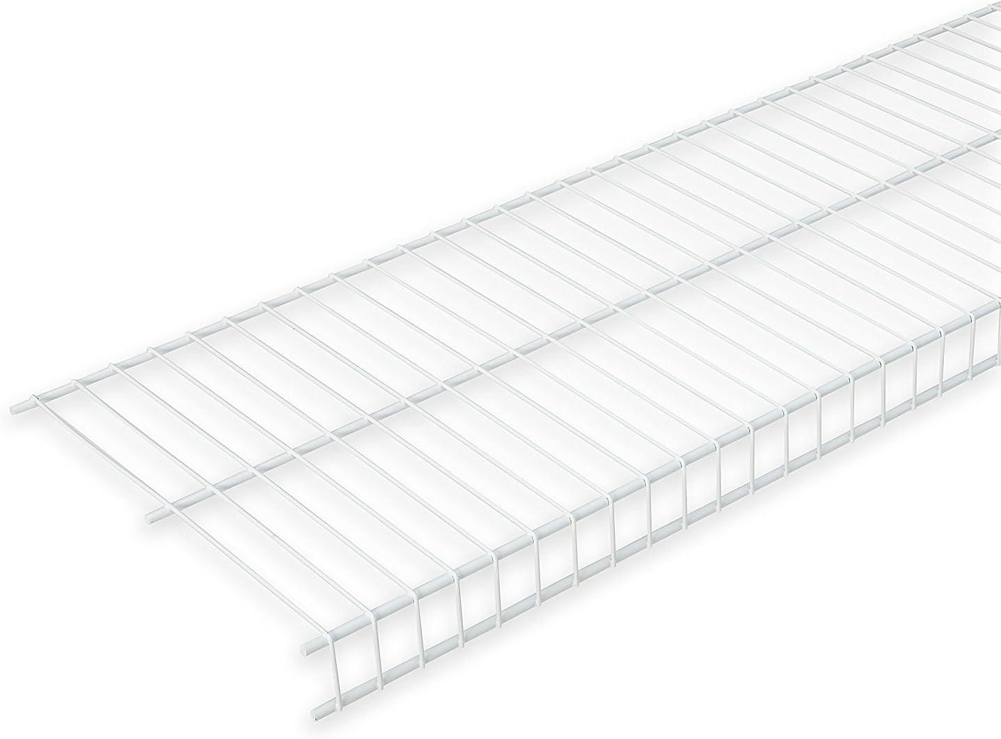 "Rubbermaid Linen Wire Shelf, 12"" X 6', White (FG3N3600WHT)"