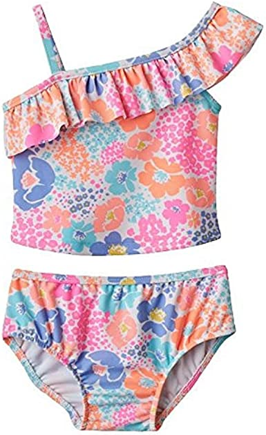 Carters Baby Girls Floral Tankini Swimsuit Set