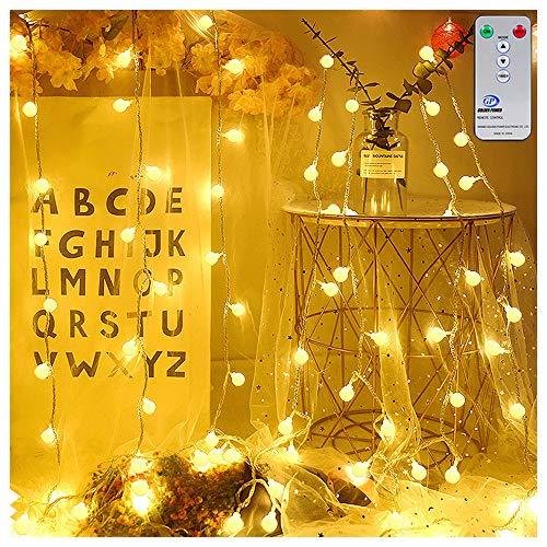 100 Led Globe Christmas Lights in US - 5