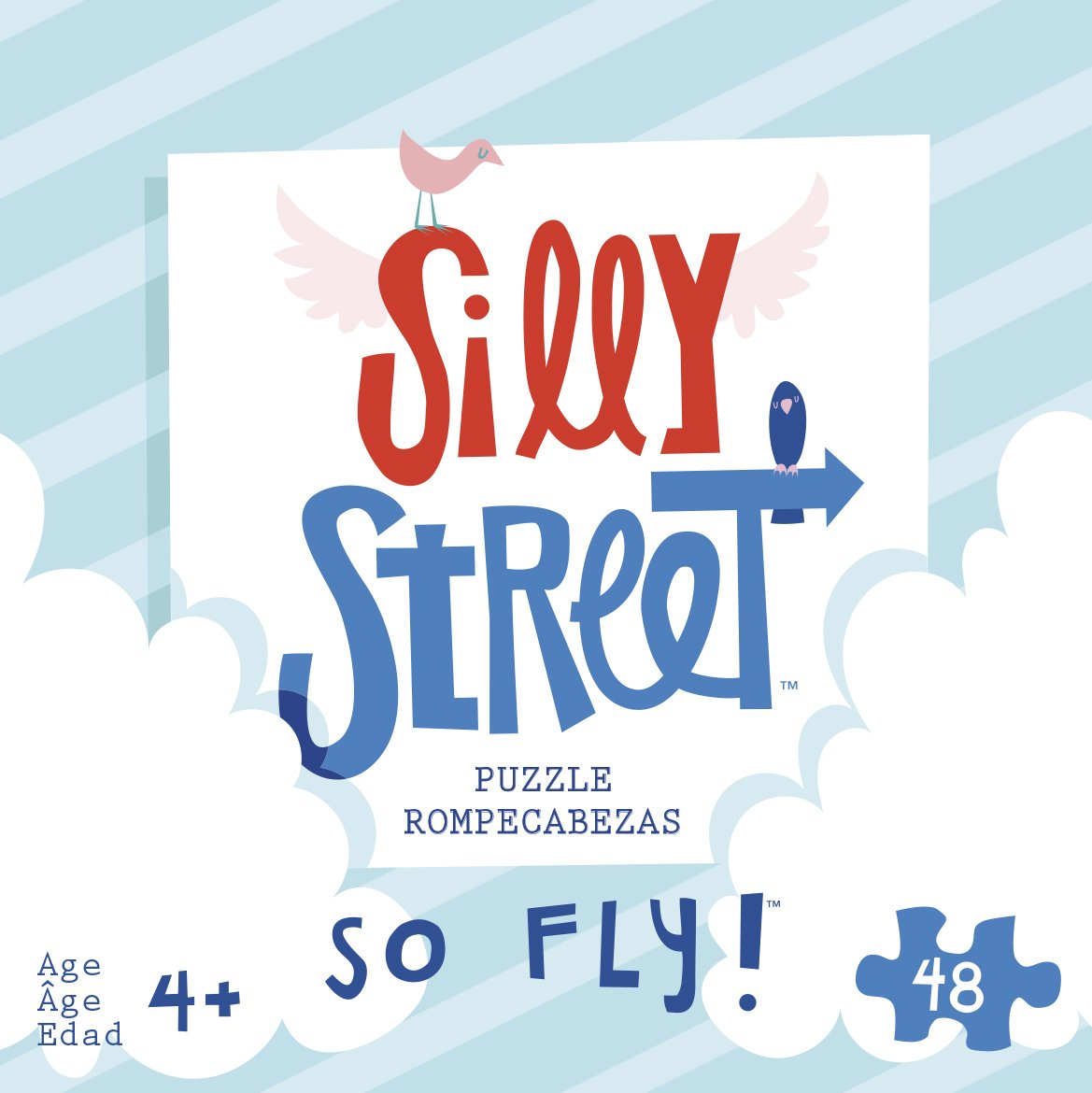 Silly Street 39601-So Fly!-Kids 48 Large Piece Jigsaw Puzzle
