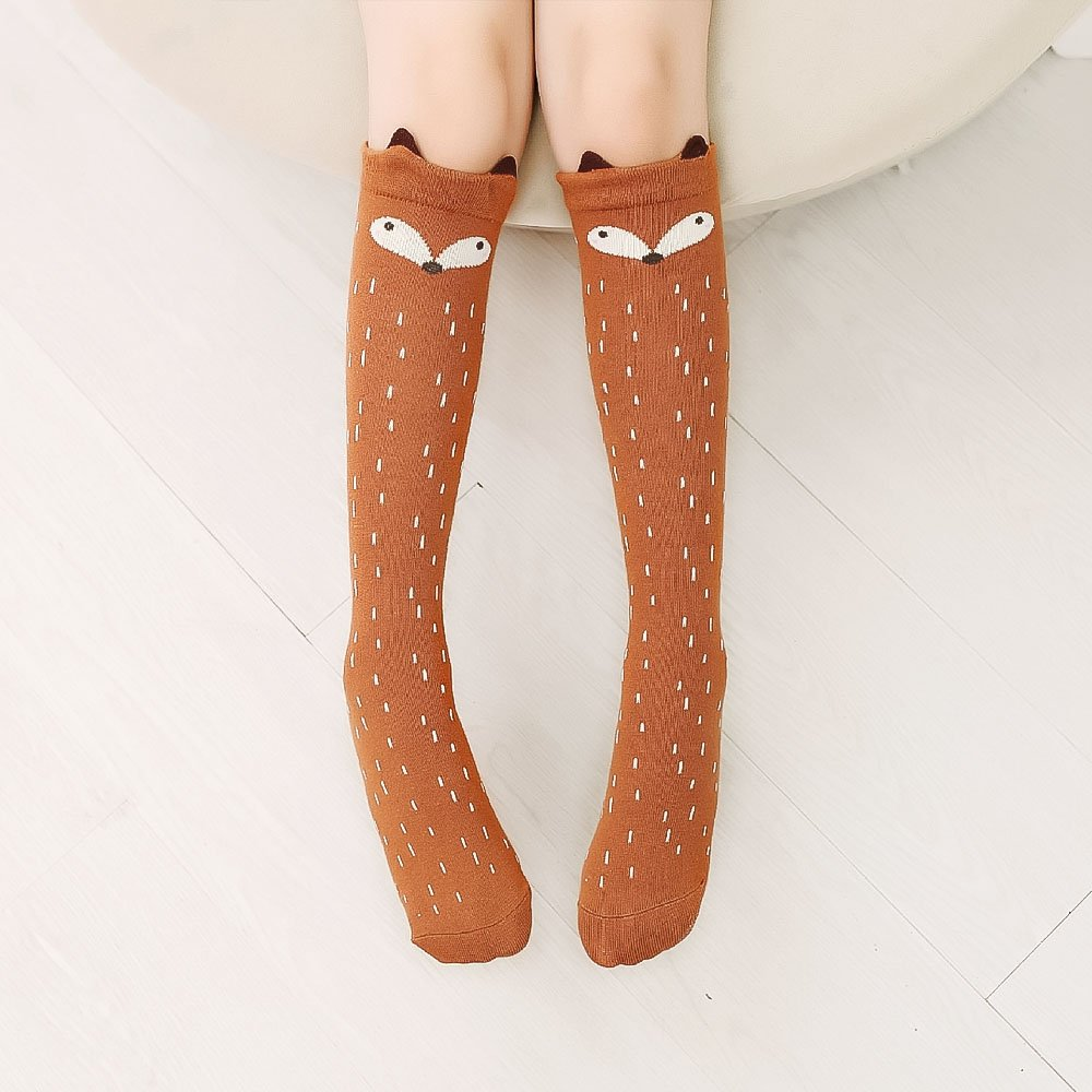 8b39e4678 Amazon.com  Refaxi Baby Kids Toddler Girl Knee High Socks Tights Leg Warmer  Stockings For Age 3 -12