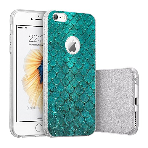 Price comparison product image iPhone 6/6s case Beryebi Bling Bling Ultra Thin Interesting Design Biling Biling Soft TPU Protective Cover (1, iPhone 6/6s Plus)