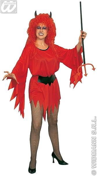 DISFRACES GILMAR Disfraz Diablesa Mujer Adulto - M/L: Amazon ...