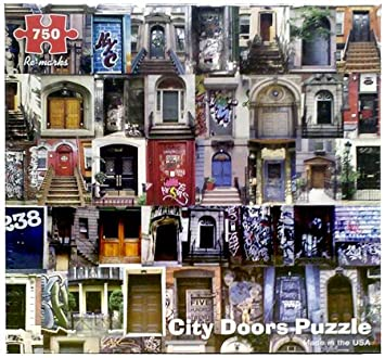 750 Piece City Doors Puzzle & Amazon.com: 750 Piece City Doors Puzzle: Toys u0026 Games pezcame.com