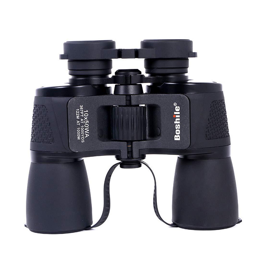 最大の割引 Foxsed-five HD双眼鏡10* HD双眼鏡10* 50高出力低光度ナイトビジョンコンサート屋外で使用する望遠鏡を見る ブラック Foxsed-five B07MCLXVTC, Headz Town:d6aba5df --- a0267596.xsph.ru