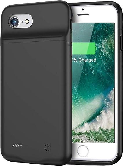 Amazon.com: Funda de batería para iPhone 8/7/6/6s, 3000 mAh ...