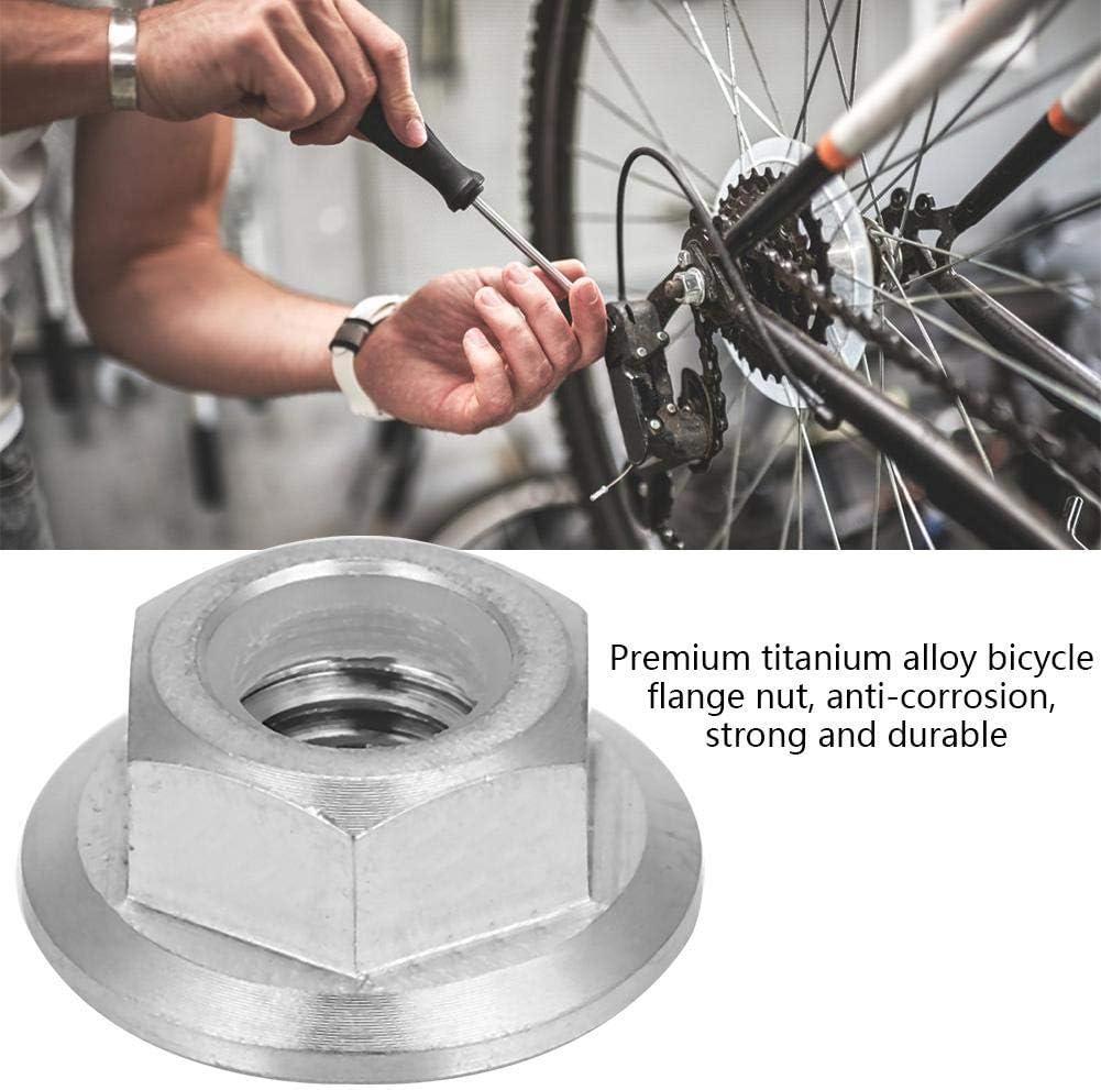 Jadeshay Tuerca Brida Tuerca de Seguridad para Bicicleta Motocicleta 1pc