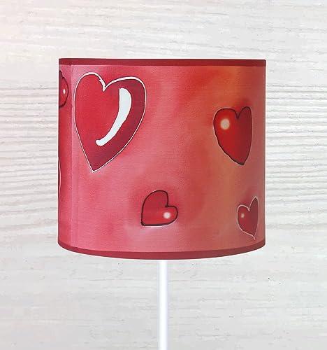 Colorida pantalla de lámpara de seda pintada a mano.: Amazon.es ...