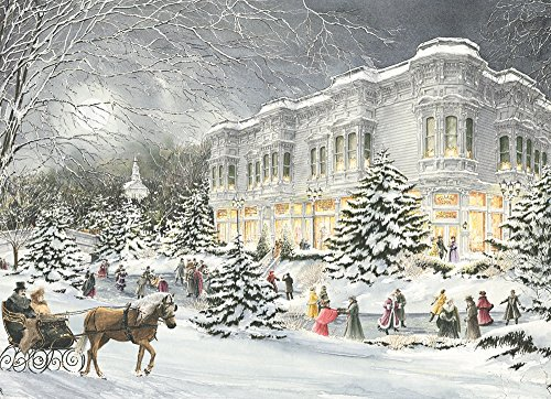 Cobble Hill Winter Garden 1000 Piece Jigsaw Puzzle