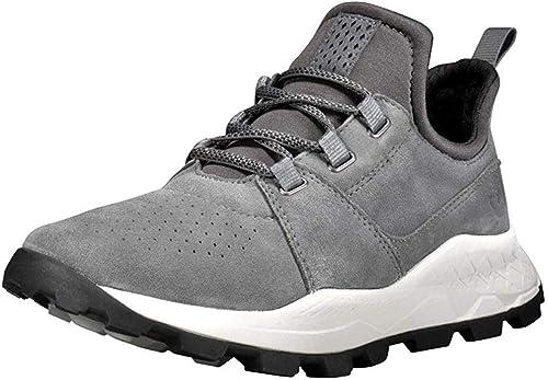 Timberland Brooklyn Oxford Sneaker in Übergrößen Grau TB0A21H1033 große Herrenschuhe