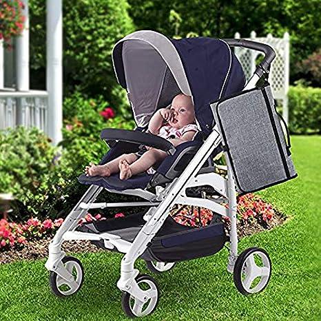 Cambiador port/átil para Viajar Kentop Cambiador para beb/és Bolso Cambiador Impermeable