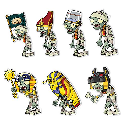 (Plants vs. Zombies 2 Wall Decals: Special Ancient Egypt Zombie Set 1 (Seven - 4-6 inch Wall)