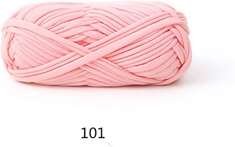 1 Ball Soft Fabric Yarn For DIY Knitting Carpet Bag Crochet Cloth Fancy Yarn 20S