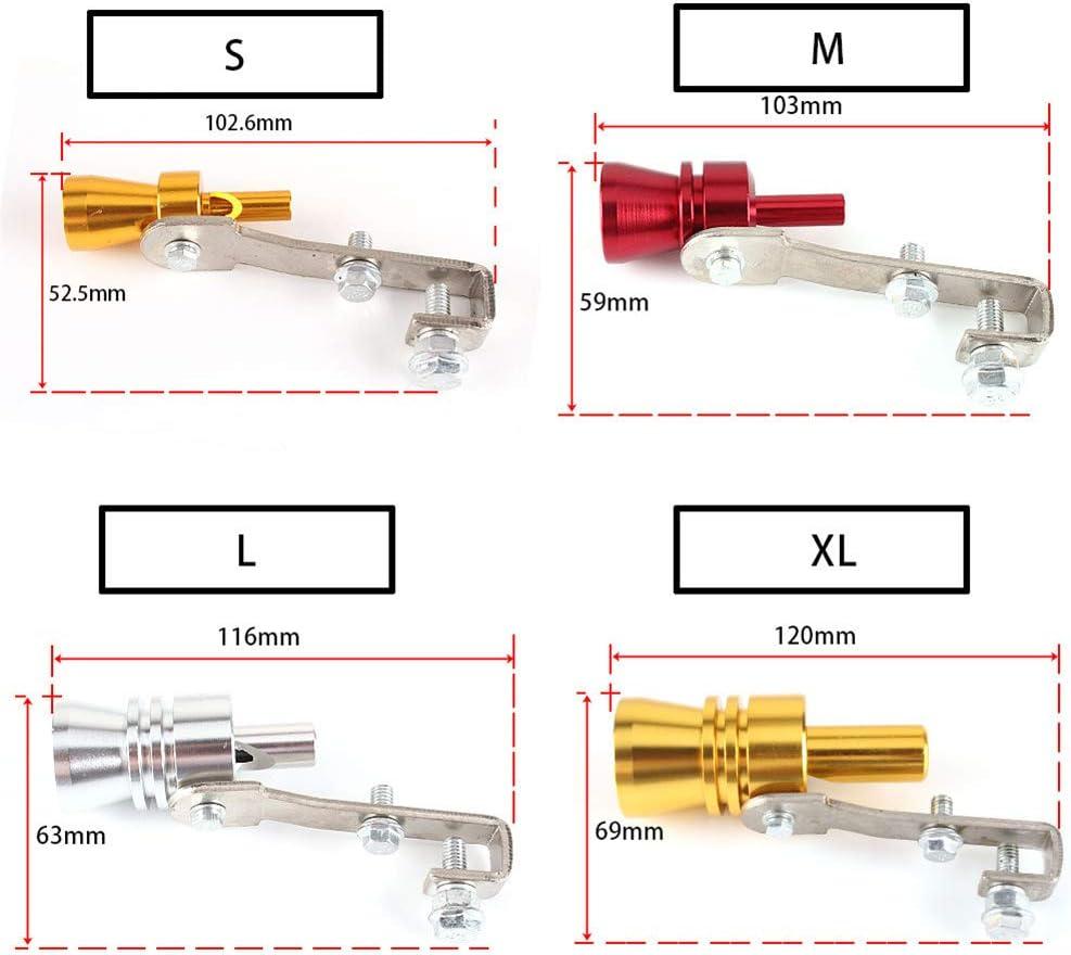 2 pcs 2020 New Multi-Purpose Car Turbo Whistle