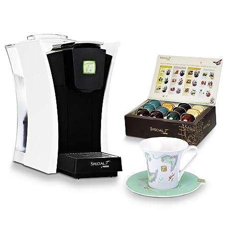 Nestlé Special. T - Tetera eléctrica para té caliente, 1480 W, color blanco