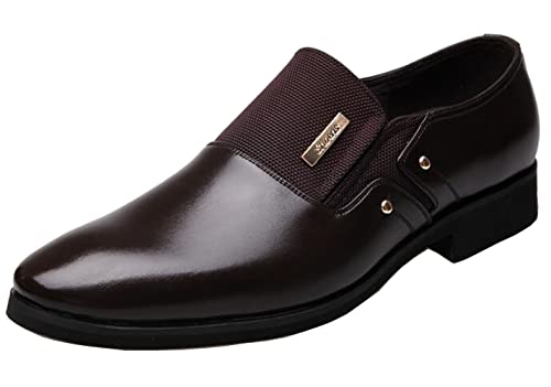 grande vente a2990 e07f8 DADAWEN Chaussure Mocassins Homme/Classic Oxford Chaussures Cuir Homme