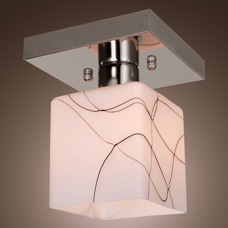 LightInTheBox Stainless Steel ceiling Light in Cube Shape