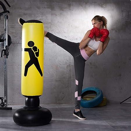 Saco de Boxeo Hinchable,Columna de Boxeo Inflable para ...