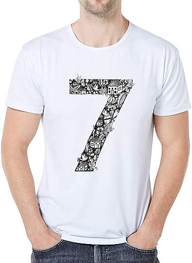 Sylar Camisetas de Manga Cortas Cuello Redondo para Hombre ...