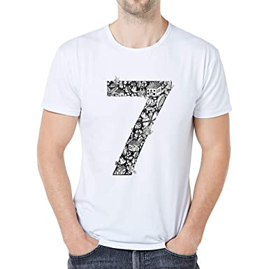 812af801b Amazon.com: Mens o Neck tees, Digital Print Short Sleeve t-Shirts Cotton  Undershirt tees Tops Big and Tall Summer Blouse Shirts Plus Size: Clothing