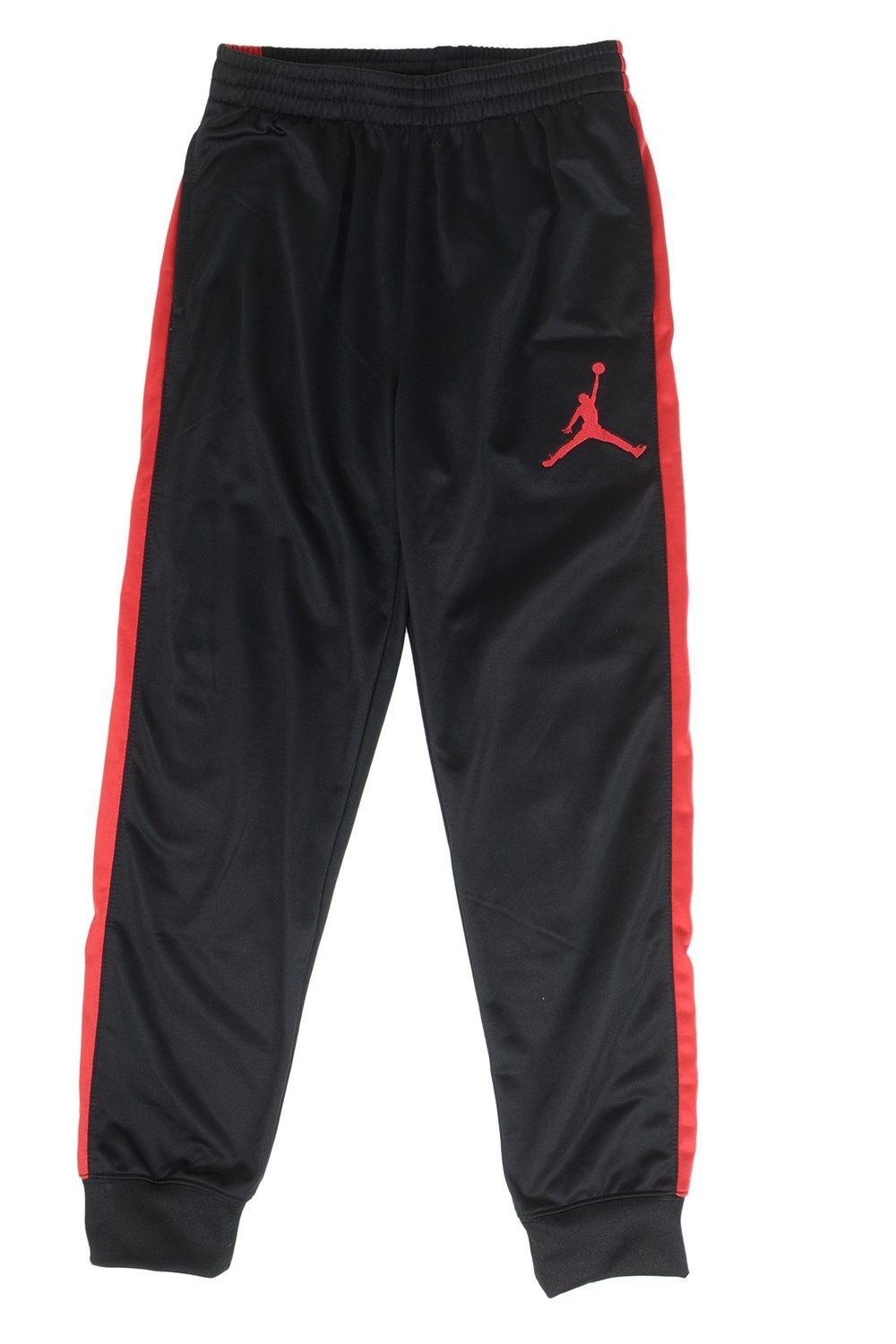 , Black//Red Jordan Big Boys Sport Skinny Jogger Pants 8-10YRS Small