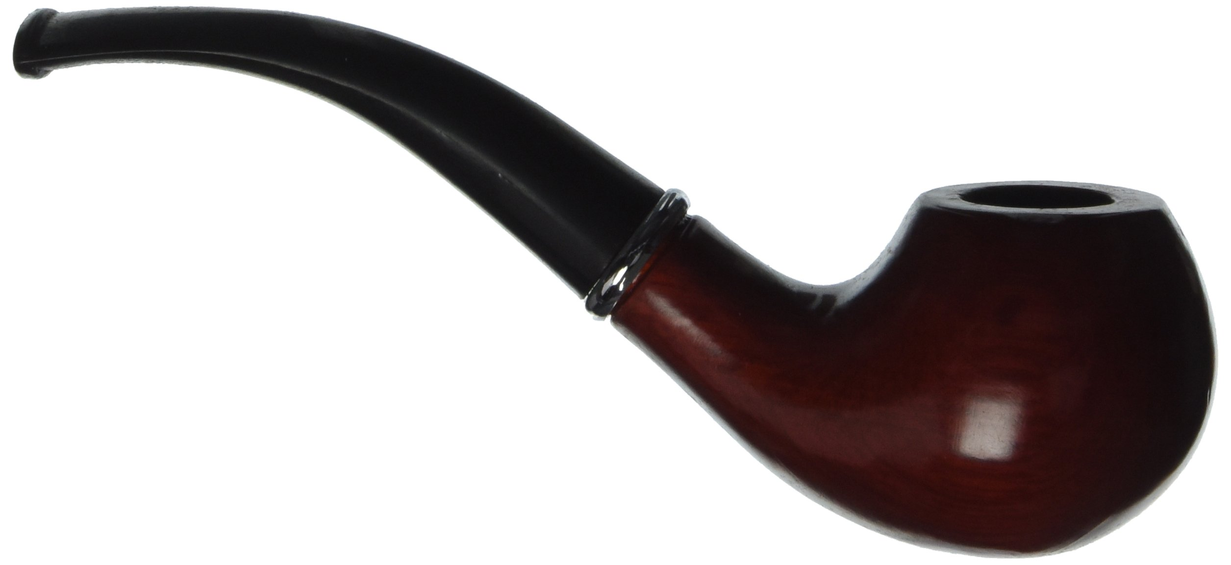 "A Classic 5.5"" Tobacco Wood Pipe"