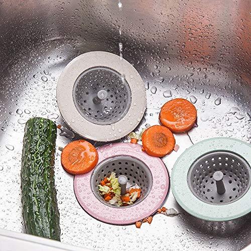 Argent Filtre de cuisine anti-colmatage d/évier de cuisine pour /évier