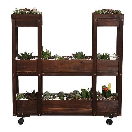 Diaosi Plant Stand Storage Rack Shelf Soporte De Flores De
