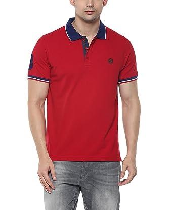 19730348f3103 SCATCHITE Men s Cotton Matte Polo Collar T-Shirt  Amazon.in ...