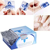 JIAIIO 200pcs/set Inside Disposable Nail Polish Remover Wipes Cotton Towel Manicure Tools