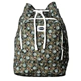 Dolce & Gabbana Multi-Color Floral Print Women's Drawstring Backpack Bag