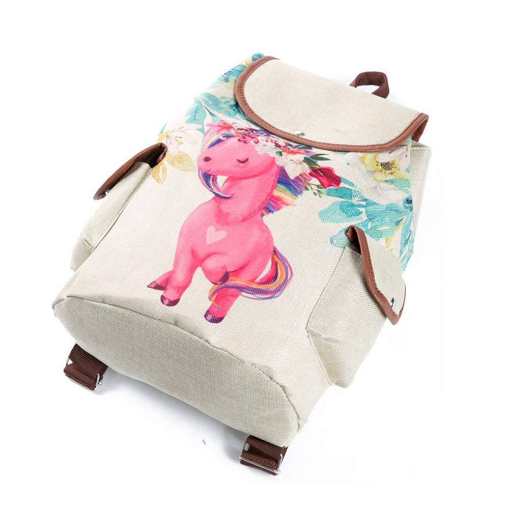1672a Kids Teen Boys Lovely Unicorn 3D Printed Large Drawstring School Bags Women Unicorn Travel Rucksacks Children Laptop Backpack Adult Cheap Book Bags Shoulder Bag Unicorn Backpack for Girls