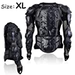 Motorcycle Motocross Clothing Racing Men s Armor Spine Chest Protective Jacket X Large TKT 11