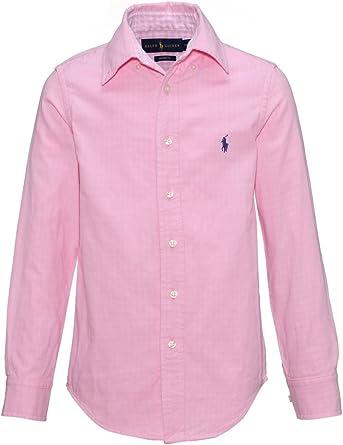 Ralph Lauren - Camisa - para bebé niño rosa 10 años: Amazon.es: Ropa y accesorios