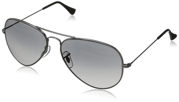 ray ban titanium aviator polarised