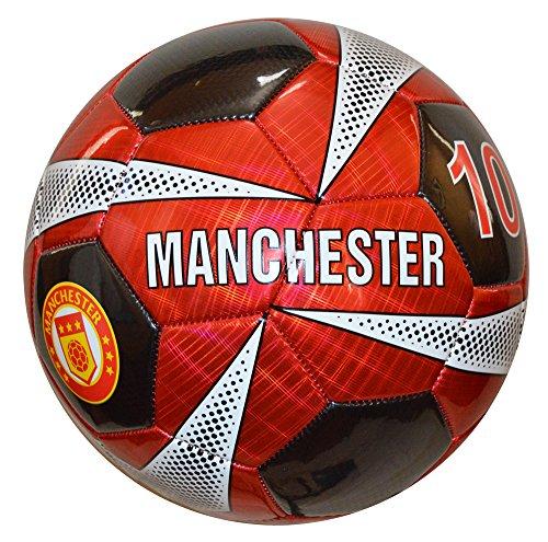 (Vizari Manchester Soccer Ball, Red, Size)