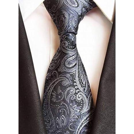 WOXHY Corbata Trajes de Negocios Corbatas para Hombre Nuevo diseño ...