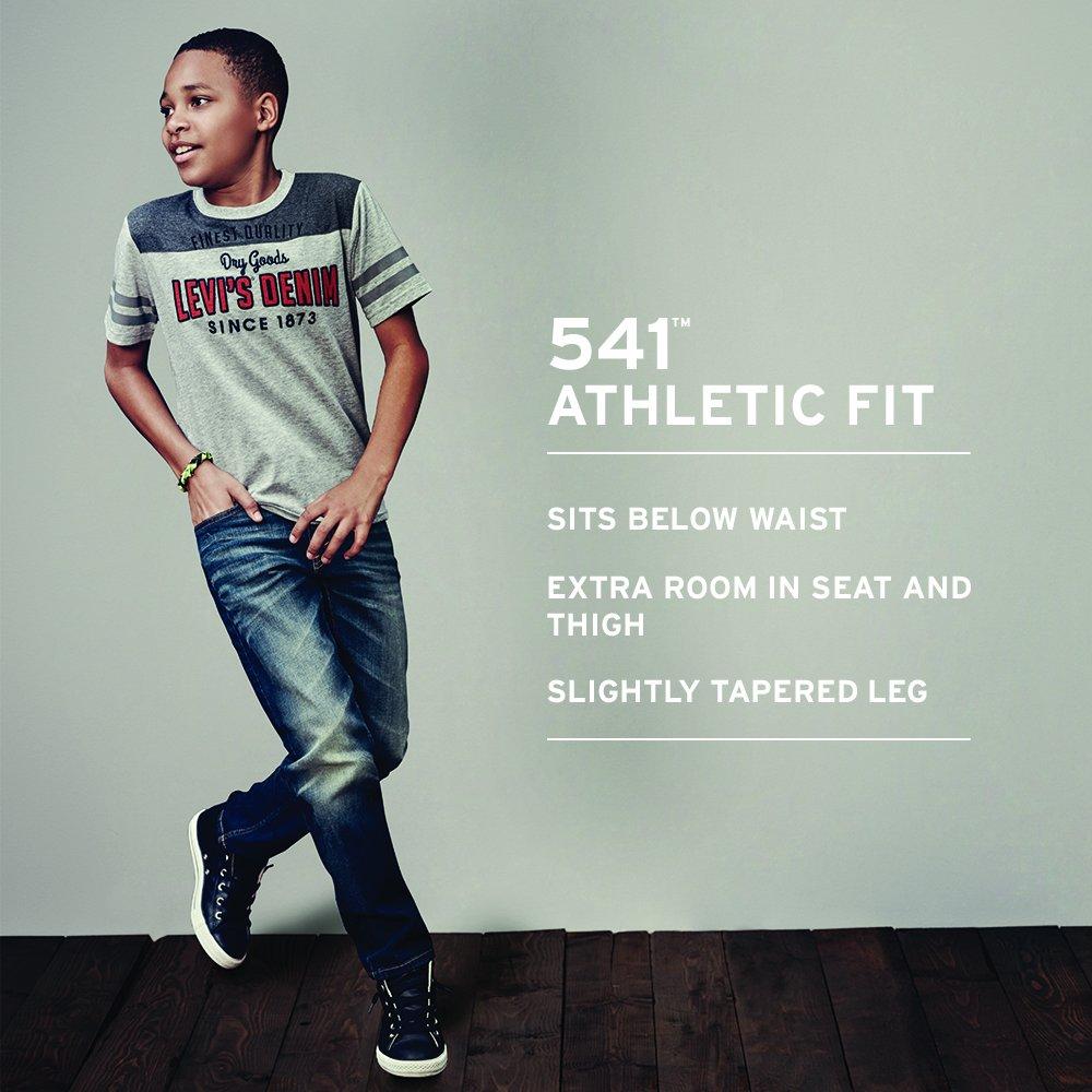 e1362394 Amazon.com: Levi's Boys' 541 Athletic Fit Jeans: Clothing