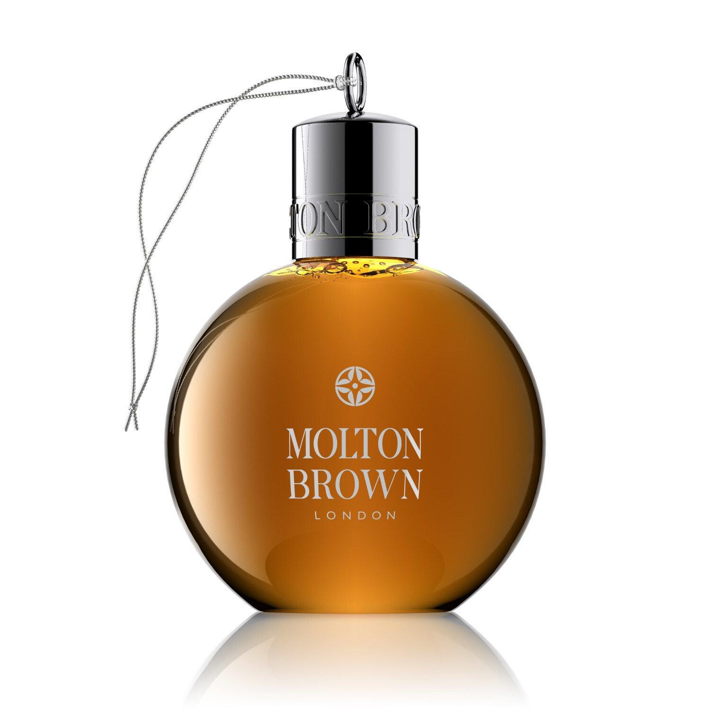 molton brown gingerlily festive shower gel bauble amazon co uk molton brown black peppercorn festive shower gel bauble