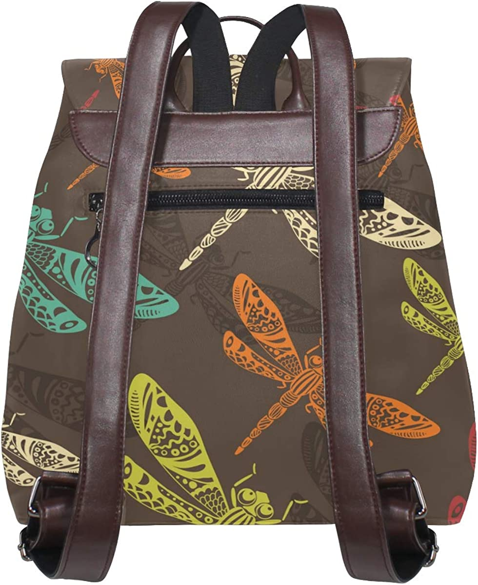 Backpack bag Maki flowers grasshoppers Baggage Bag